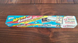 1992 topps micro baseball cards set for Sale in Goose Creek, SC