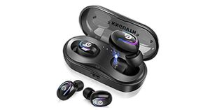 Wireless Earbuds, KNGUVTH Bluetooth Headphones 5.0 True Wireless Stereo Headset Built-in Mic Invisible In Ear Sport Sweatproof Earphones with Chargin for Sale in Chatsworth, CA