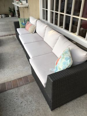 8 piece outdoor seating set for Sale in Irvine, CA
