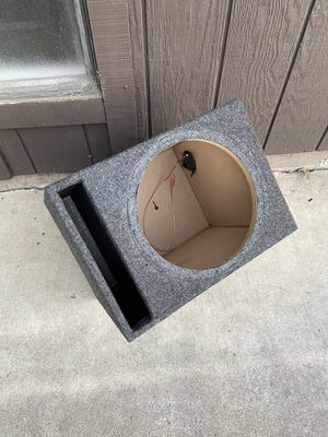 12inch Subwoofer box. for Sale in Stockton, CA