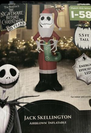 Nightmare before Christmas inflatable for Sale in Pico Rivera, CA