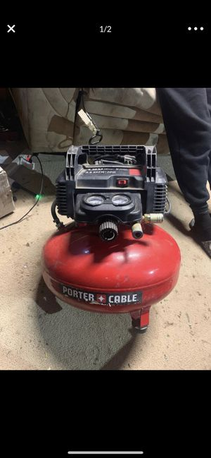 Porter cable air compressor for Sale in Los Angeles, CA