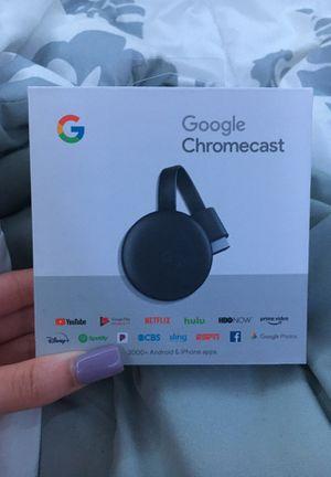 Google chromecast for Sale in Alexander, AR