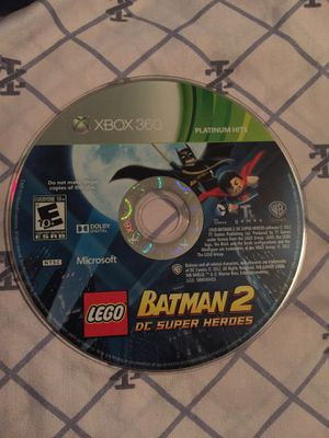 LEGO Batman 2 DC Super Heroes for Xbox 360 for Sale in Houston, TX
