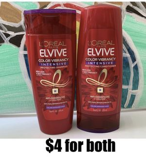 L'Oreal Paris Elvive Color Vibrancy Intensive Shampoo & Conditioner 12.6 FL OZ for Sale in Yorba Linda, CA
