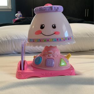 Fisher price Laugh And Learn Lamp for Sale in East Brunswick, NJ