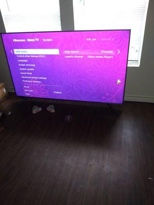 A 75inch Hisense Roku TV for Sale in Longview, TX