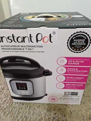 Brand new in the box 6qt instant pot $65 for Sale in Guadalupe, AZ