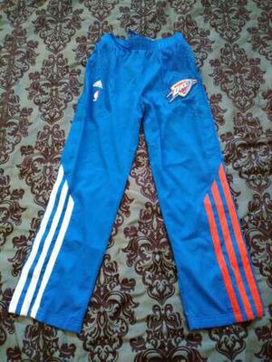L Men Thunder NBA Adidas Warm Up Pants NWOT for Sale in Oklahoma City, OK