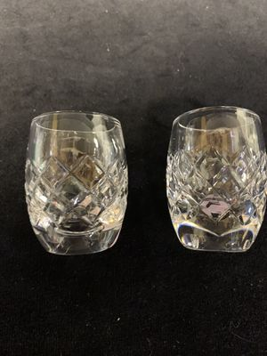 Waterford Crystal Comeragh shot glasses for Sale in San Clemente, CA