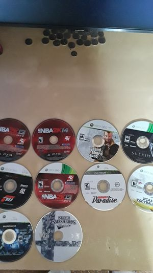 Xbox 360 , playstation 3, Wii games for Sale in Monterey Park, CA