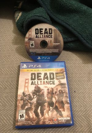 Dead alliance unused game no scratches + day one limited addition unused code for Sale in Los Angeles, CA