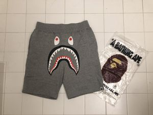 Bape shark grey shorts size L XL and2XL for Sale in Malden, MA