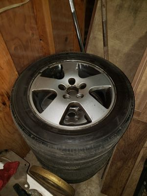 Set of 4 wheels and tires for Sale in Bonney Lake, WA