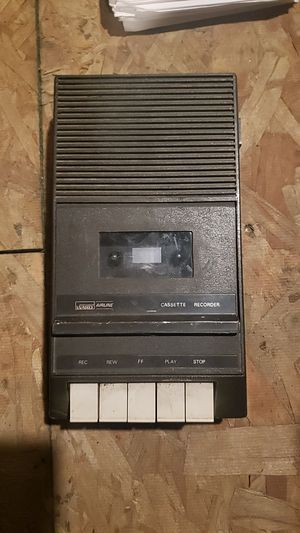 Ward airline cassette recorder for Sale in Florence, MT