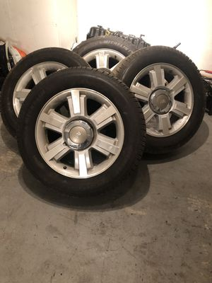 Ford f150 king ranch 20 inch rims with brand new Michelin Tires for Sale for sale  Ellenwood, GA