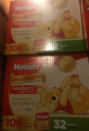 Huggies little snugglers size Newborn $25 for Sale in Atlanta, GA
