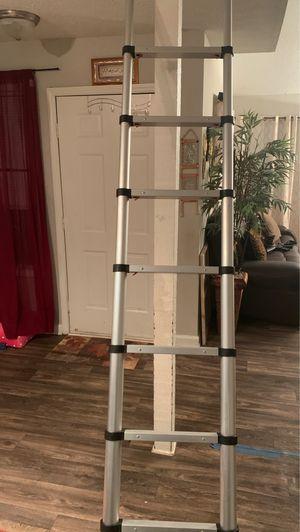 12.5 ft Extension Telescoping Aluminum Ladder for Sale in Doraville, GA