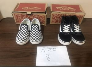 Size 8 Vans Shoes for Sale in Chicago, IL