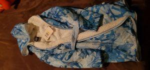 Blue children's robe/snuggie size 7/8 for Sale in Fountain Hills, AZ