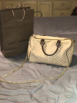 Louis Vuitton Idylle Sepia 30 purse with bag and chain for Sale in Port St. Lucie, FL