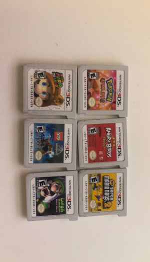 3ds games (1 for $20 all for $100) for Sale in Fontana, CA