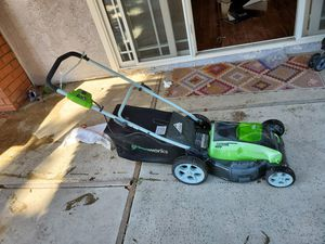 Greenworks lawn mower for Sale in City of Industry, CA