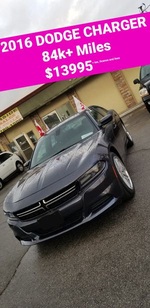 2016 DODGE CHARGER SXT for Sale in Riverside, CA
