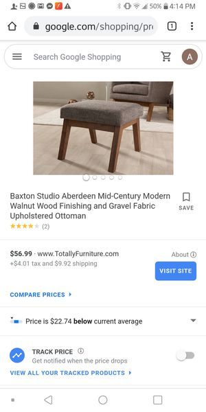 New in box ottoman for Sale in Mount Pleasant, MI