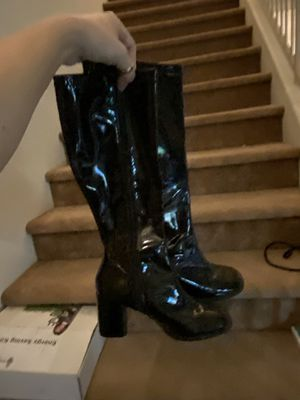 Size 6 gogo boots. I worked one week. So these are new. for Sale in Henderson, NV