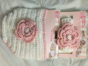 Crochet diaper cover and headband for Sale in San Jose, CA
