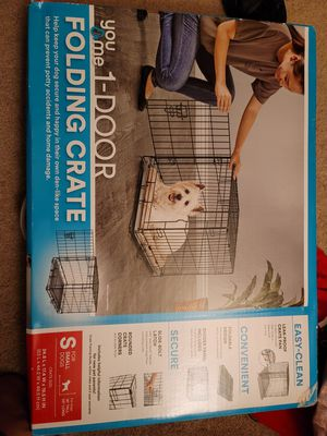 1 door folding create pet cage for Sale in Mill Creek, WA