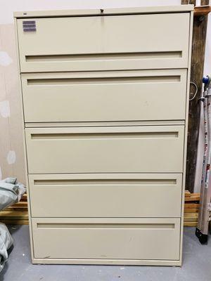 Hon Large File Cabinet for Sale in OSBORNVILLE, NJ