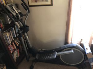 Pro-form elliptical in great condition, just didn't get any use. Fully functional with new batteries already in. for Sale in Roanoke, VA