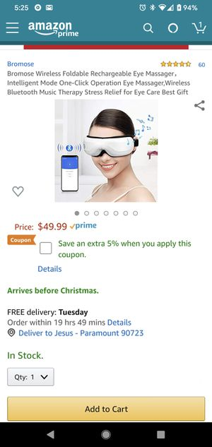 Eye Care massager for Sale in Paramount, CA