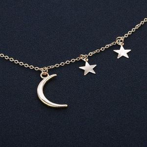 Crescent and Stars Necklace for Sale in Portland, OR