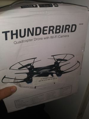 Thunderbird quadcopter drone with wifi camera for Sale in Columbia, MO