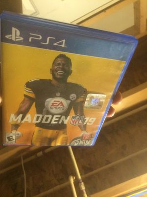 Madden 2019 PS4 for Sale in Odenton, MD