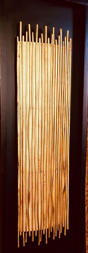 Designer modern wood wall art H35.5xW12xD2 inch for Sale in Chandler, AZ