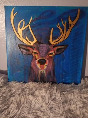 Original Deer Painting for Sale in Tacoma, WA
