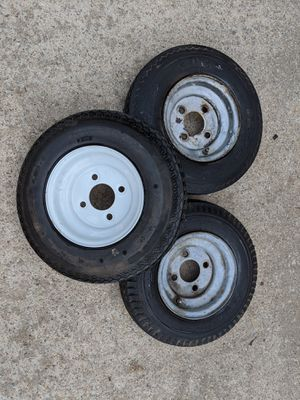 "Trailer Tires - 8"" - 4 Lug for Sale in Freetown, MA"