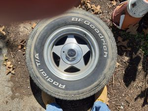 4 good rims and tires taken off a 1990 Silverado for Sale in Lakesite, TN