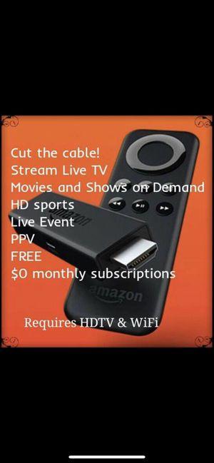 Fire tv stick for Sale in Moreno Valley, CA