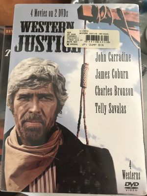 Western justice dvd set for Sale in Hanover, PA