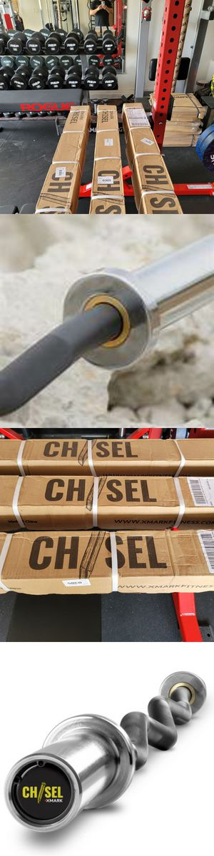 🔥🔥🏋️♂️💯% NEW Chisel Olympic Needle Bearing Curl Bar🏋️♀️🔥🔥Rogue,Weights,Barbell,Squat Rack,Gym Equipment,Rep Fitness,hoist, dumbbells for Sale in Avondale, AZ