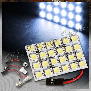 47mm x 30mm 24 SMD LED Panel Interior Dome/Map Light W/ T10+Festoon+BA9S - White for Sale in Pomona, CA