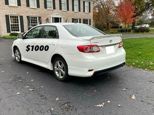 LowMiles 2012 Toyota Corolla$1.000 for Sale in Arvada, CO