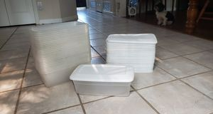 25 Sterilite Plastic Stackable Shoeboxes for Sale in Grand Prairie, TX