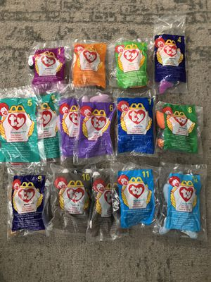 McDonalds TY Beanie Baby Collection for Sale in Tacoma, WA