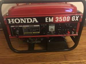 Brand New Generator Pool store and electric start for Sale in St. Louis, MO